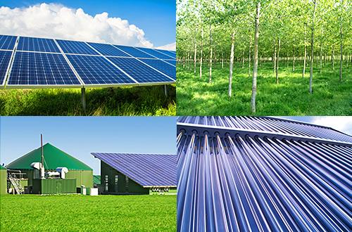 Erneuerbare Energien Mix